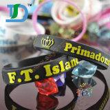 Wristband del silicón de la pulgada de la promoción Gift1/2 con el color llenado