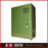 Rectángulo eléctrico del refrigerador del metal de hoja de precio competitivo