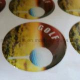 Cúpula Pegatina de encargo, logotipo de la etiqueta engomada de epoxy, etiqueta autoadhesiva