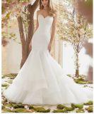 2018 A - linha vestidos de casamento nupciais frisados Ctd6837 do laço