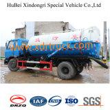 대중적인 모형 7.8cbm 흡입 하수 오물 트럭