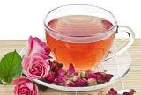 Entwässerter Rosen-Tee