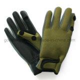Trastos de los guantes de la pesca del neopreno (GNFG01-02)