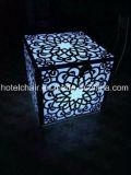 Выгравированная нержавеющая сталь искусство с мебели венчания СИД таблицей светлой обедая
