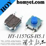 Fuente de fábrica SMD Tact Switch / Tactile Switch con el mejor precio