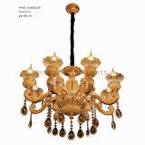 Iluminación casera europea de la decoración con la aleación del cinc