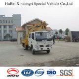 14m Dongfengのユーロ3の空気作業プラットホームのトラック