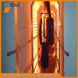 オーブンを治す産業ガスか電気赤外線