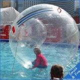 Прозрачный шарик воды цифров раздувной для прогулки ролика