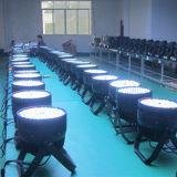 il cambiamento di 120X3w RGBW colora l'illuminazione il LED PAR64 di DMX