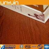 plancher auto-adhésif de vinyle de PVC des graines en bois en plastique de 1.5 millimètre
