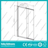 Écran de douche de vente chaud de porte coulissante avec la glace claire Tempered (SE938C)