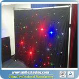 Rideau en rideau en étoile de la qualité DEL/visuel pour l'étape