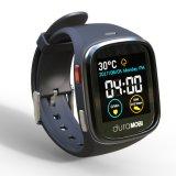 Horloge van het Scherm van de Aanraking van 1.54 Duim het Waterdichte Slimme IP65 met Dubbele GSM van Banden & wi-FI, GPS & het Dynamische Tarief van het Hart, ECG, De Controle van de Bloeddruk, Sedentaire Herinnering