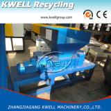 Máquina Shredding da película plástica Waste dos PP do PE/Shredder hidráulico do empurrador