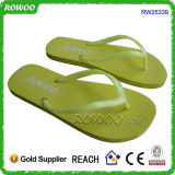 Fracasos de tirón vendedores superiores de señora Rubber Cheap Beach Slipper (RW25339U)