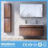 Estilo Europeo MDF Excelentes Assessories moderno cuarto de baño con dos lavabos (BF125N)