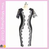 Горячее сбывание 2016 наиболее поздно вводит платья в моду карандаша соединения втулки шнурка женщин