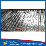 高力の電流を通された足場の金属の板