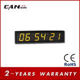 [Ganxin] часы цифровой индикации желтого цвета СИД экрана 2.3inch для конференц-зала