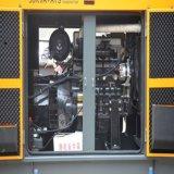 Gerador do motor Diesel com diesel Soundproof aberto do baixo preço da certificação do ISO do Ce da fase do tipo três