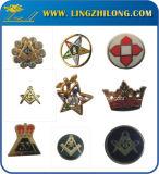 Детали Instock Masonic конструировали Pin отворотом каменщика