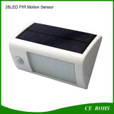 IP65 28 LED Solar Outdoor Light con Motion Sensor per il giardino Fence