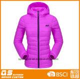 Куртка способа прокладки женщин теплая