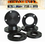 Enxerto do aço de carbono do ANSI B16.5 Pn16 STD A105 na flange
