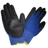 13G U3様式ポリエステルやしはPU ESD作業手袋に塗った