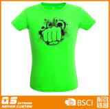 Camiseta de la potencia de los deportes de las mujeres que se ejecuta