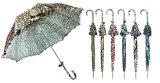 Зонтик створки конструкции 3 животной кожи ручной светлый (YS-3FM21083940R)