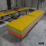 Поверхность белого полиэфира строительного материала твердая для встречной верхней части