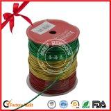 Het hete MetaalLint van Polyerter van de Verkoop voor Verpakking met Gouden Lijn