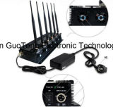 Uav Jammer 2.4G/5.2g/5.8g Drone Signal Jammer Signal Adjustable Signal Jammer de Jammer de la señal