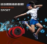 De mini Hoofdtelefoon van de Hoofdtelefoon van Bluetooth van Sport 503 Neckback Stereo met de Radio van de FM