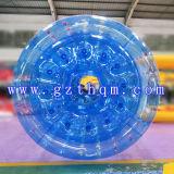 膨脹可能な青PVC/TPU水球または水多彩な球か膨脹可能なビーチボール