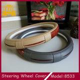 De universele 38cm Speciale Dekking van het Stuurwiel van de Auto van het Ontwerp PU+Wooden