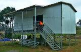 Casa modular prefabricada del acero apuesto para el uso de la familia