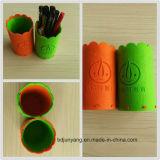 L'OEM personalizza la cassa di matita fatta a mano del feltro