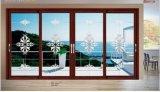 Окно алюминиевого Casement высокого качества стеклянное и окно саги двери