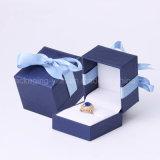 Ювелирные изделия верхнего сегмента упаковывая коробку мягкого касания бумажную с изготовленный на заказ изготовлением