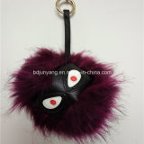 Mostro personalizzato Keychains della pelliccia del Raccoon per la decorazione