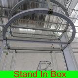 Выполненный на заказ PVC алюминия материальная самомоднейшая портативная стойка будочки выставки