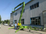 lift Workform van de Boom van de Dieselmotor van 18m Towable Telescopische