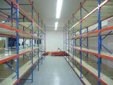 中型の義務の倉庫のラックまたは金属ラック記憶のラッキングの鋼鉄棚