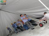 Marco de acero al aire libre Cheap Wedding Marquee Peg Pole Tent