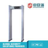 24 Detectores de metal Zones 100 Segurança de Alto Nível-Decibel Alarme caminhada através de detectores