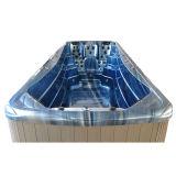 STATION THERMALE extérieure de natation de 6 mètres avec des gicleurs de massage d'éclairages LED