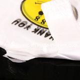 l'HDPE 100% del Virgin ha colorato il sacchetto di plastica della maglietta con il marchio su ordinazione stampato